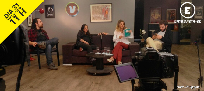 31/05 | Programa Entrevista-se estreará no YouTube na terça-feira às 11 horas da manhã