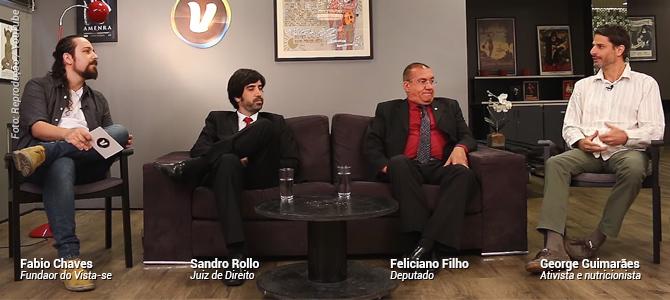 Entrevista-se: estreia da 2ª temporada tem ativista, juiz e deputado falando de veganismo