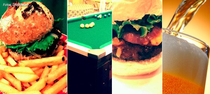 Hamburgueria Artesanal Zona Norte ~ S u00e3o Paulo ganha hamburgueria vegana com mesa de sinuca e cervejas artesanais na Zona Norte